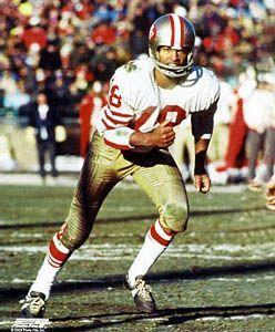 Gene Washington San Francisco 49ers 1969-78 and Detroit Lions 1979.