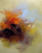 © susan hodgin Cloud Cyst, oil on canvas, 2011, 16 x 20 inches   # Pin++ for Pinterest #