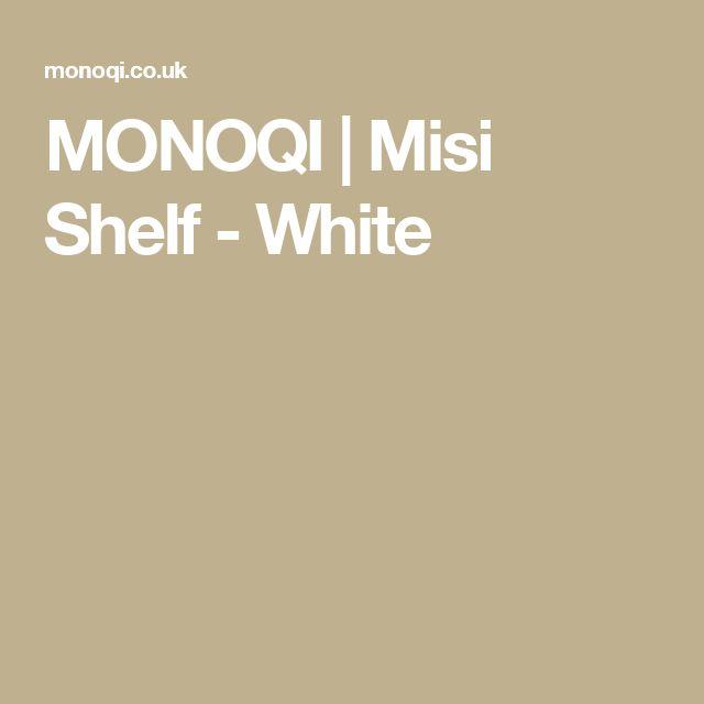 MONOQI | Misi Shelf - White