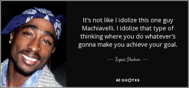 BILLIONAIRE GAMBLER™: Tupac Shakur on Machiavelli AKA Makaveli