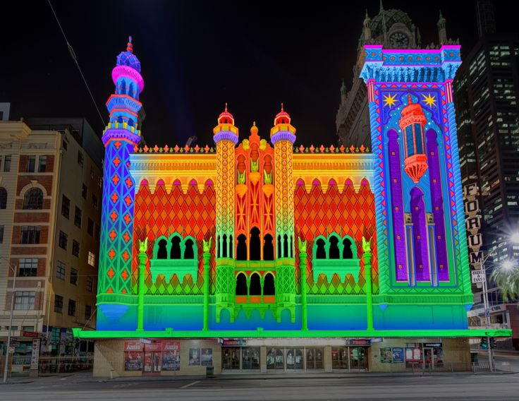 White Night Melbourne - Forum Theatre by The Electric Canvas