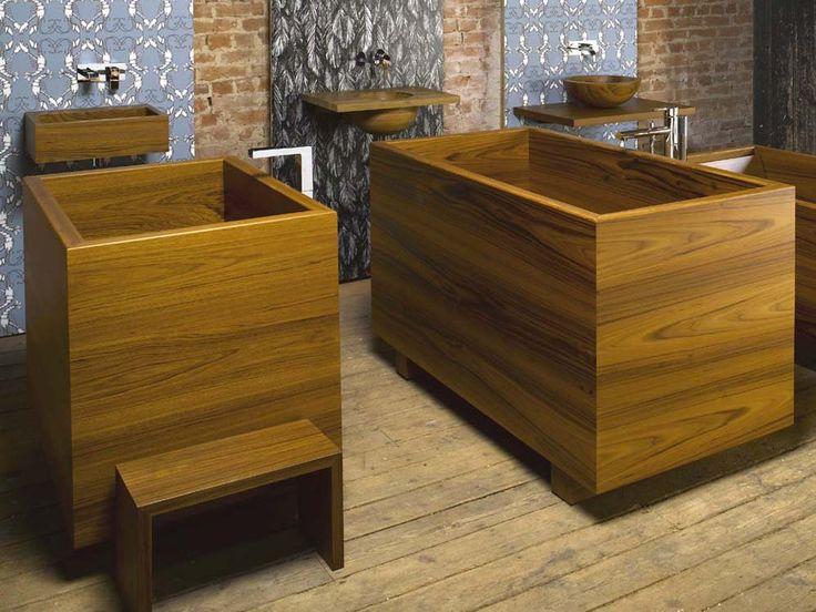Geo Deep 'Ofuro' bath - William Garvey - Furniture Designers & Makers                                                                                                                                                                                 More