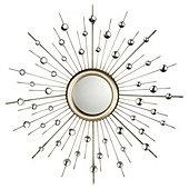 Starburst Mirror 82X82Cm MirrorTesco DirectLiving Room
