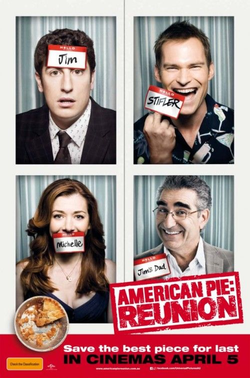 American Pie Reunion  (seen 5/6/2012) Very funny and corny, just the way it's supposed to be!