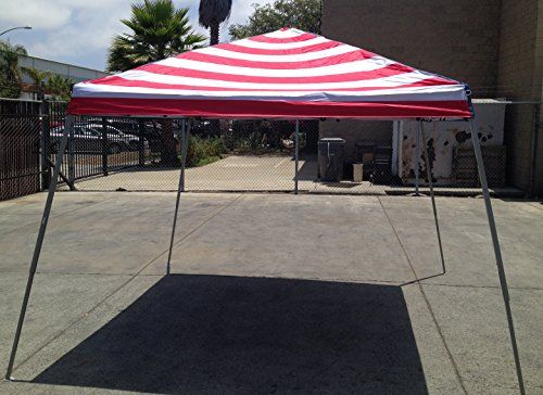 World Famous Sports 8x8 Stars and Stripes Sun Canopy ** Click on the image for additional details.