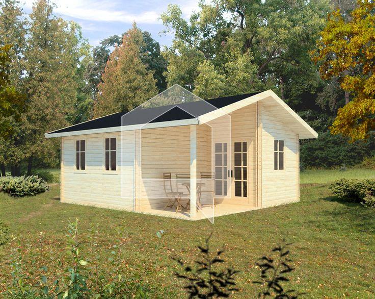 Koka vasarnīca Vanags, 35 m2; Cena - € 5.829; Šī koka māju droši var nosaukt par ērtu vienistabas dzīvokli. Māja Vanags pielāgota dažādām cilvēku vajadzībām un ļaus piedzīvot labākos vasaras mirkļus.