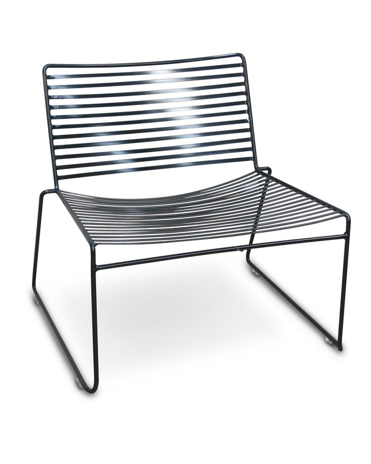 Arizona wire lounge chair - black | Outdoor Furniture ...