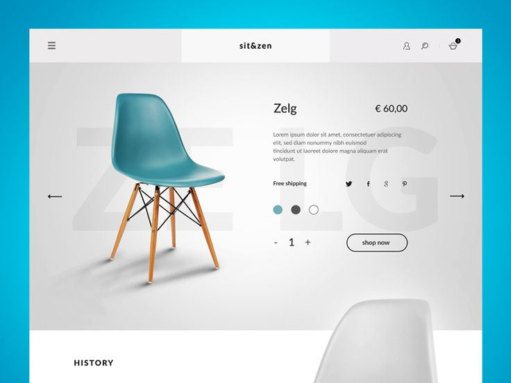 Sit & Zen product page by Giorgio Sannino