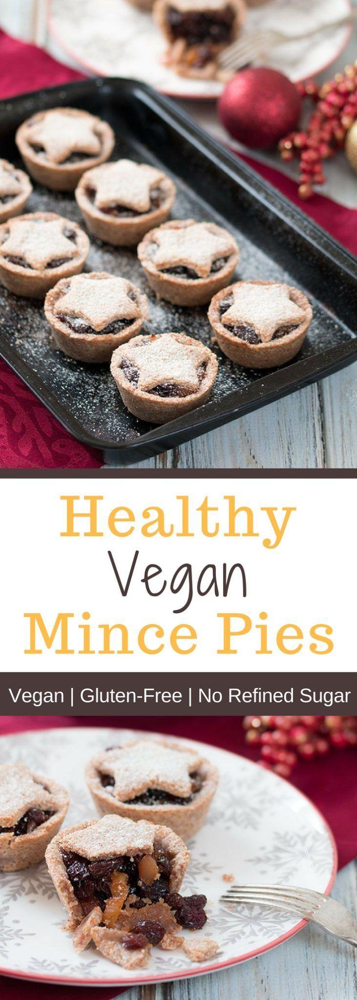 Healthy Vegan Mince Pies