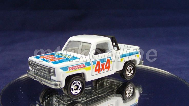 TOMICA F44 CHEVROLET TRUCK 1975 | 1/77 | CHINA | F44A-17 | UK T-6 | NO BOX