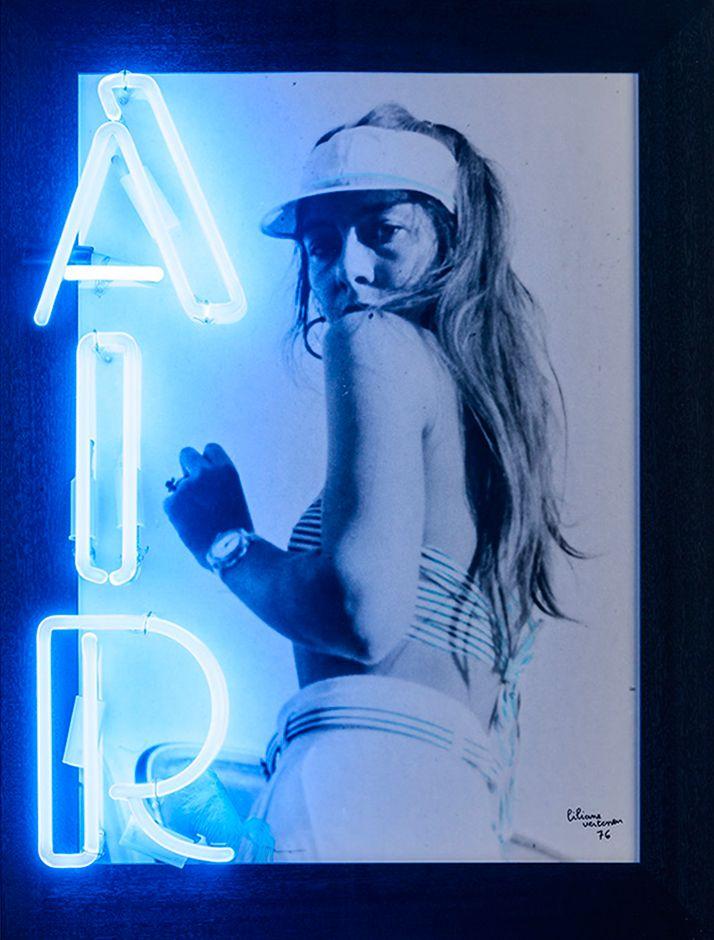 Liliane Vertessen - AIR (1976) @ Galerie Zwart Huis | Zeedijk 635, Knokke