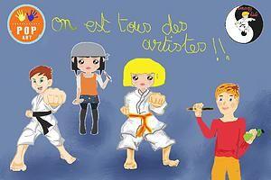 atelier de peinture et dessin au Luxembourg POP ART chez Zenergy kids | Blog