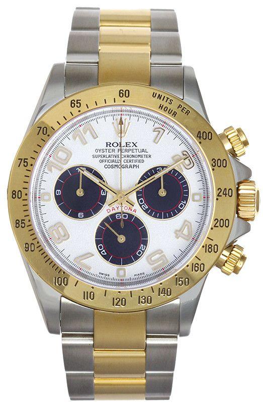 Rolex Men's Daytona Two-tone Gold Watch