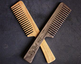 Big Red Beard Comb Cherry No.9 by BigRedBeardCombs on Etsy