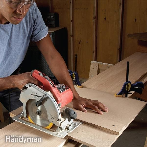Two Essential Saw Cutting Guides Make furniture-quality cuts with a circular saw with these inexpensive DIY saw guides. Make both from medium-density fiberboard in just a few hours, then use them for years.