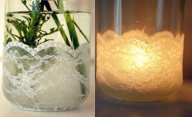 44 best frascos resiclados images on pinterest mason - Frascos de vidrio decorados ...
