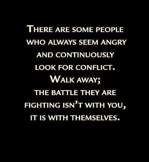Just walk away! Let them self destruct without destroying you in the process as well.