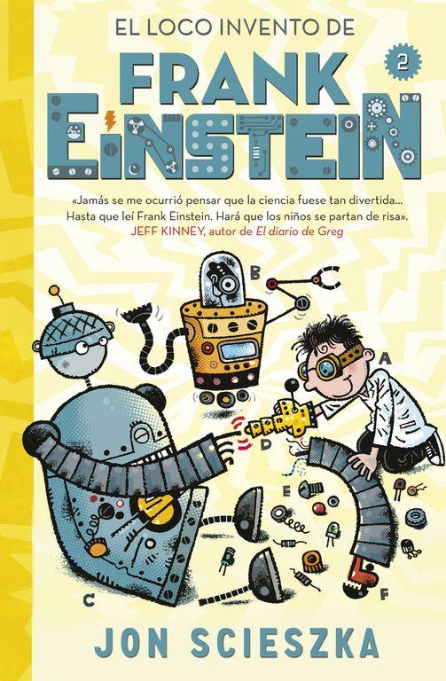 El pequeño (y algo chiflado) Frank Einstein y su mejor amigo Watson, junto con sus inteligentes robots Klink y Klank, están trabajando en el Electrodedo, un aparato que proporcionará energía gratis a toda la ciudad. Pero esto choca con los planes de su archienemigo T. Edison que pretende controlar el poder de la energía y así hacerse rico, muy rico.  El tiempo se acaba y solo Frank, Watson, Kink y Klank pueden detenerle. ¿Lo conseguirán?