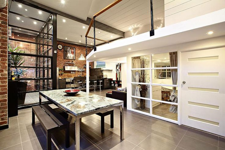 Spotted on RTEdgar, another nice three bedroom, two bath warehouse conversion located in Abbotsford, a suburb in Melbourne, Victoria, Australia.           Photos courtesy of RTEdgar