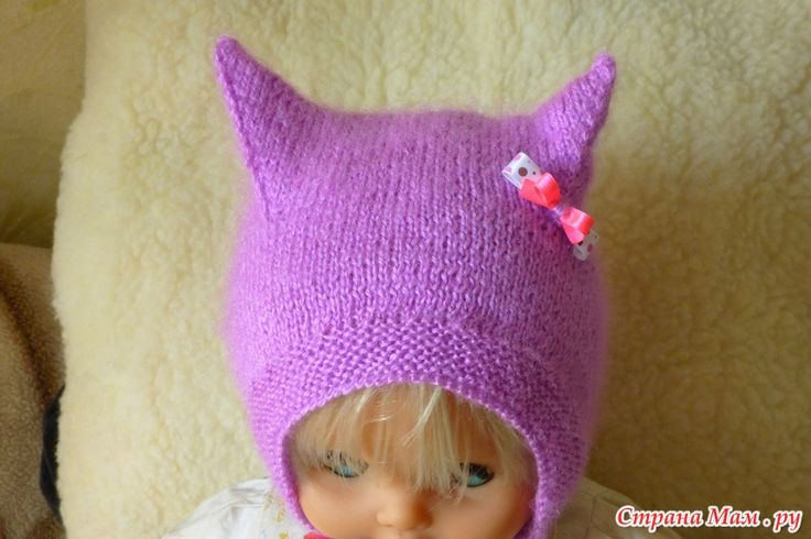 Моя Kitty Cap мастер класс