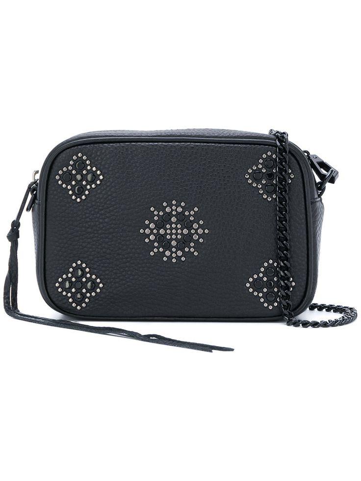 REBECCA MINKOFF SMALL CAMERA SHOULDER BAG. #rebeccaminkoff #bags #shoulder bags #leather #