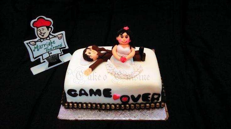 Couple Themed Cake