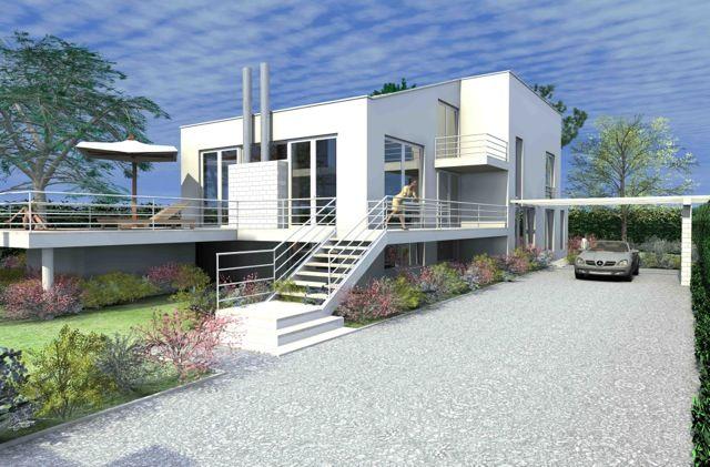 Villa Solaria. New and futuristic villa on sale in Forte dei Marmi, Italy # www.fdmre.com