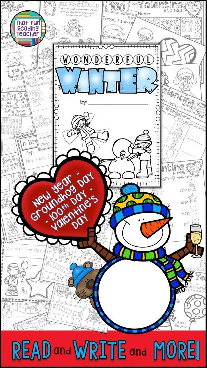 My first grade students love these fun writing activities for Winter! Click here to see more! $