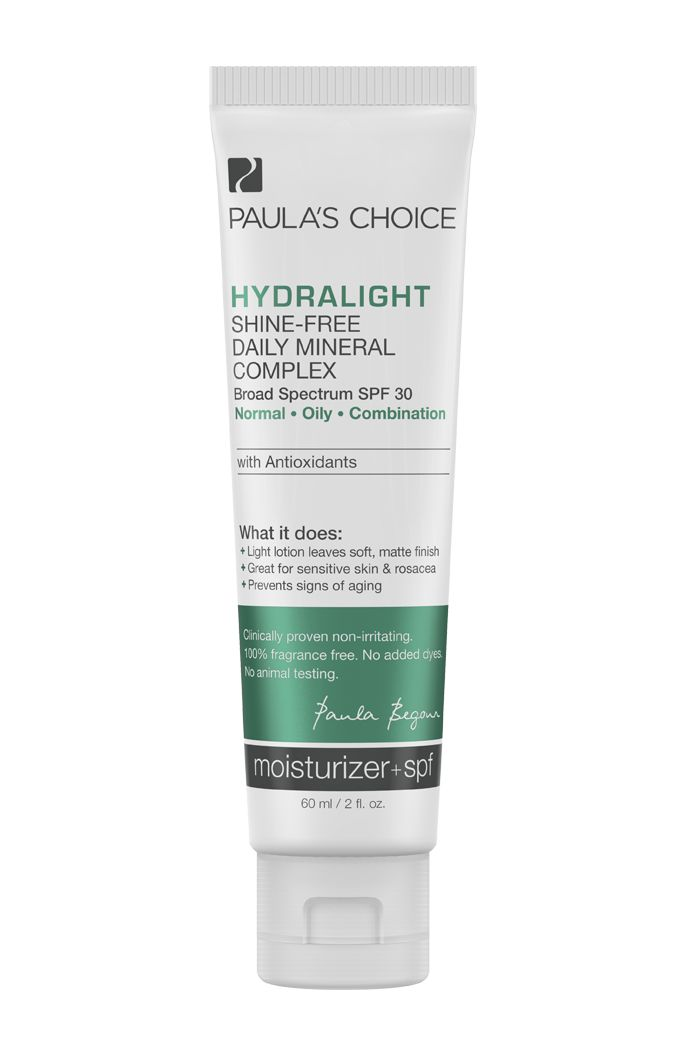 Hydralight Shine-Free Daily Mineral Complex with SPF 30 with antioxidants