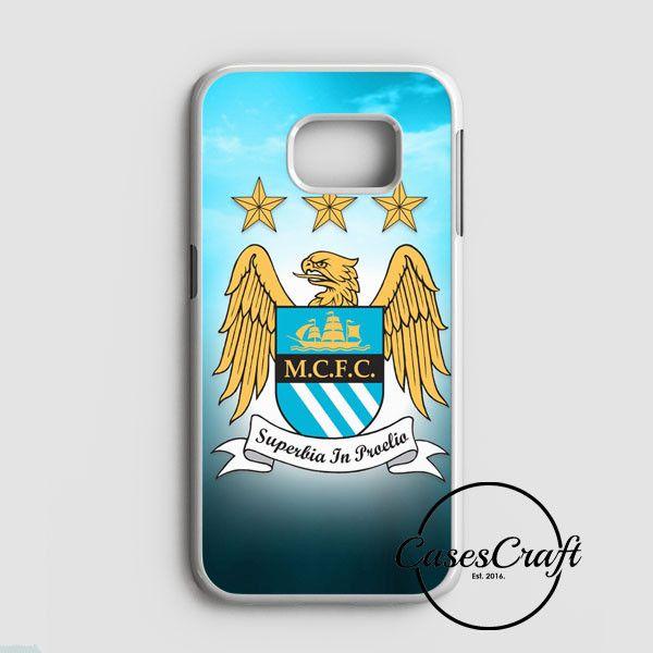 Manchester City Logo Samsung Galaxy S7 Edge Case | casescraft