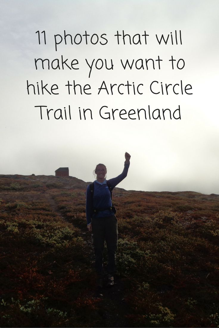 The Arctic Circle Trail, a stunning 100-mile hike in Greenland, features crystal clear lakes you can safely drink from, curious reindeer, tundra vegetation, and captivating hills and mountains.