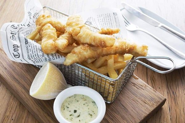 Relaxed charm: Enjoy fish and chips at North Bondi Fish or better yet take it away and sit on the beach.