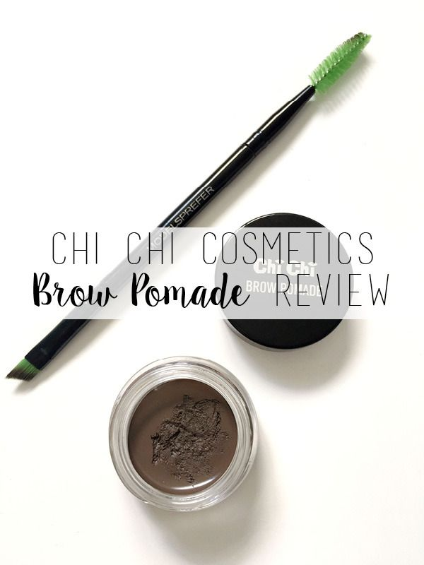 Chi Chi Brow Pomade Review – Medium Brown // Maddie's Beauty Spot