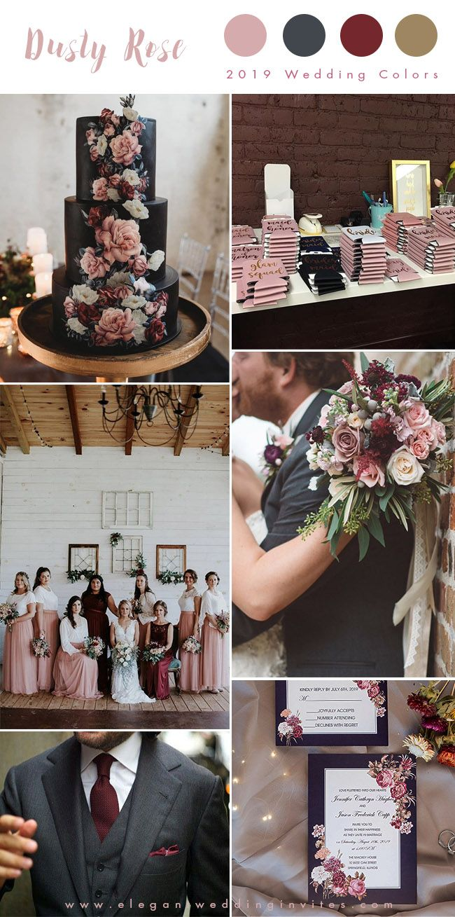 Top 10 Wedding Color Trends We Expect To See In 2019 2020 Parte