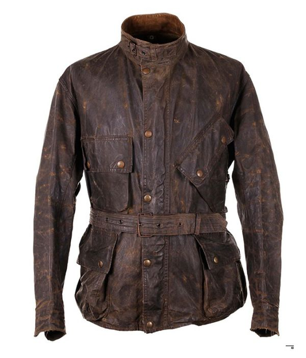 BARBOUR INTERNATIONAL MOTORCYCLE JACKET, 1950s