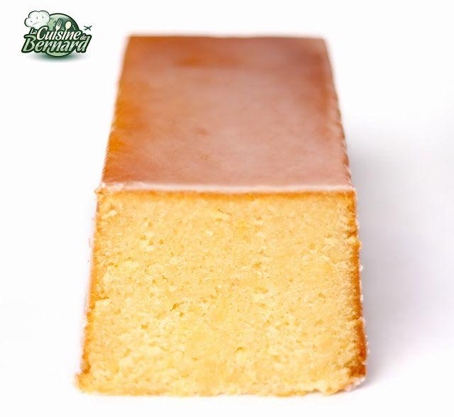 La Cuisine de Bernard: Le Cake Ultime au Citron Conseillé par Pensée de Ronde
