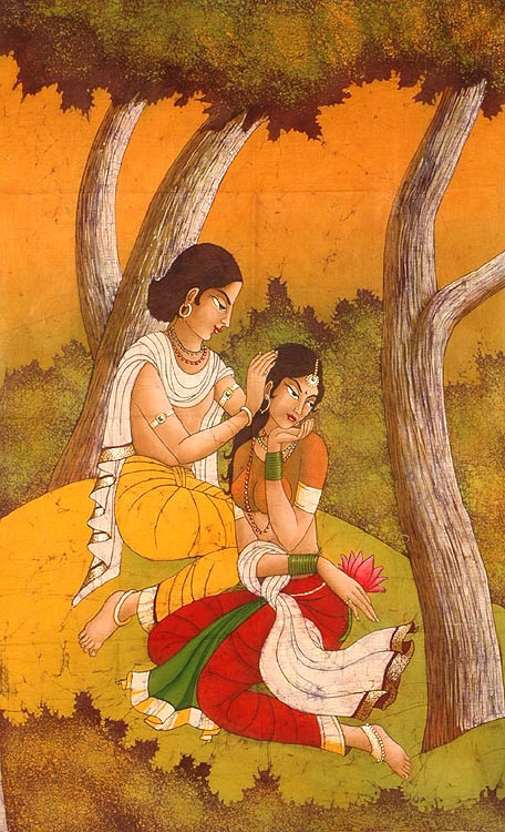 Nala Damayanti is a story which is associated with cyclical misfortunes - called saade-saati in Indian languages.