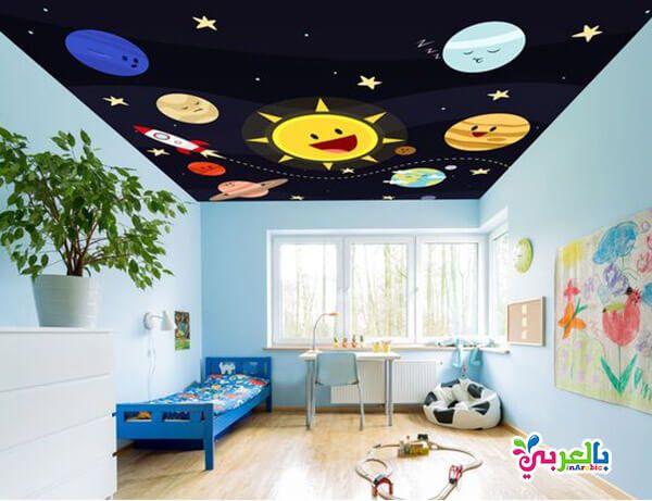 الوان غرف نوم اطفال جديدة دهانات غرف اطفال حديثة بالعربي نتعلم Kids Room Inspiration Ceiling Murals Quirky Home Decor