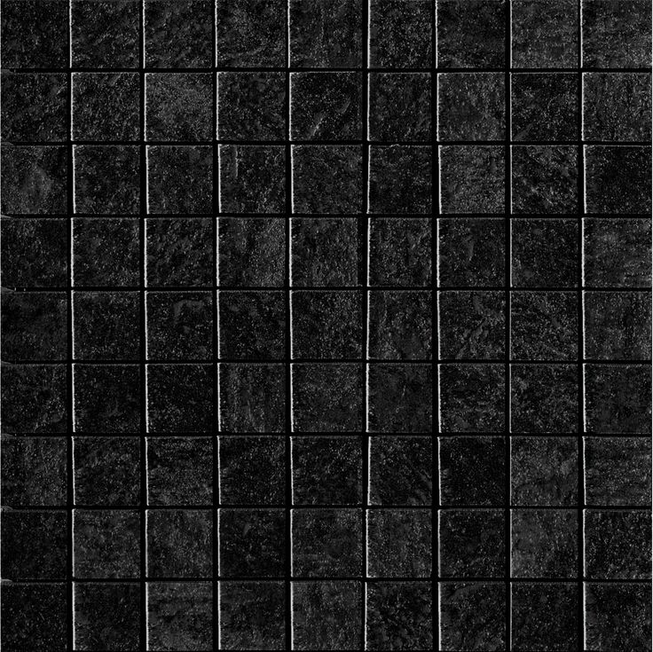 Show Details For Imola COLOSSEUM Black Square Mosaic WALL FLOOR Tile