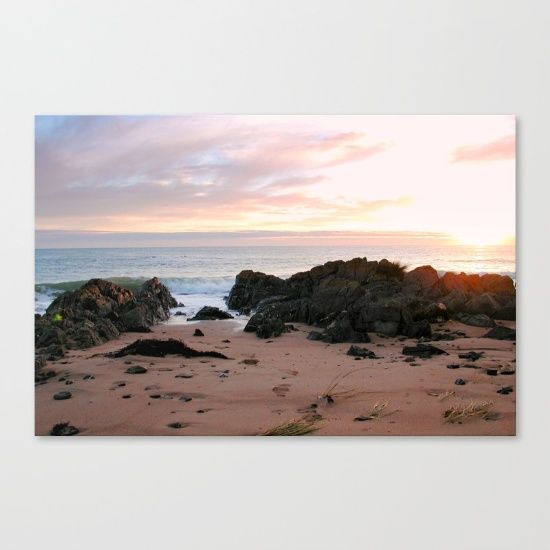 Sunrise, Seascape, Sands, Sky, Oceans, Tasmania, Australia.