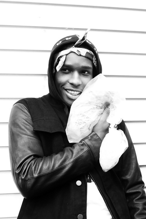 ASAP Rocky- I saw him on The Show with Vinny. He is genuine and so kind. Not to mention sexy and has one of the best smiles(: Always Strive And Prosper