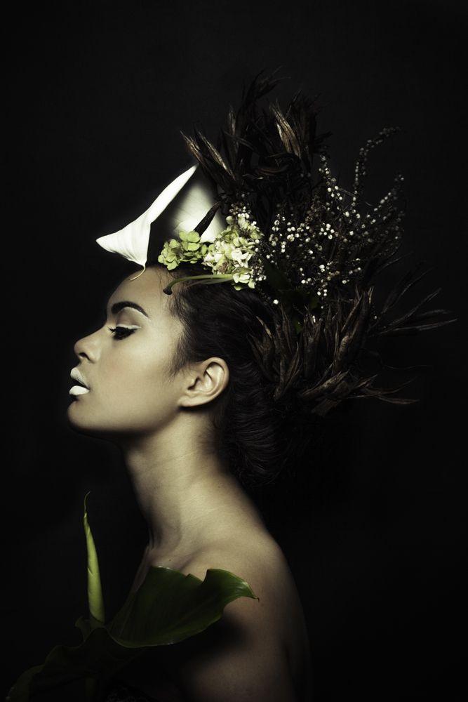 Dusky Maiden with Lily  Styled by Melaina Newport Karaitiana and Photographed by Rakai Karaitiana #MelainaKaraitiana