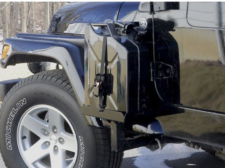 Side-mount Jerry Can Carriers for the JK - Jeep Wrangler Forum