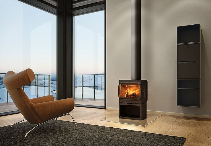 Jøtul F305. An Oslo design duo create a modern iteration of the cast-iron stove with a timeless silhouette.