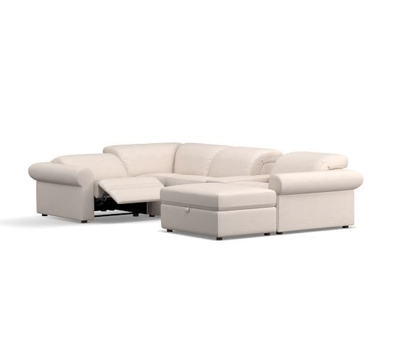 PB Ultra Lounge Roll Arm Upholstered 6 Pc Reclining ...