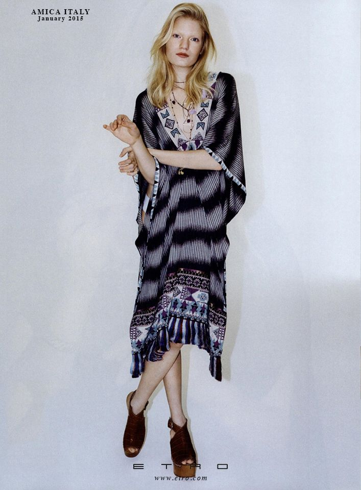 Etro Woman as featured on Amica Italy #ETROeditorials #style #fashion