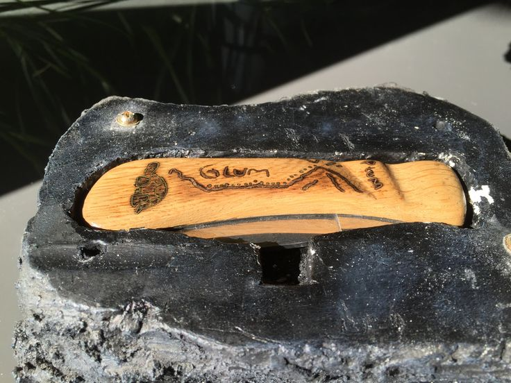 Knife steampunk