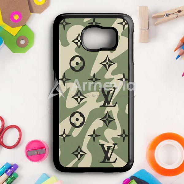 Louis Vuitton Camo Pattern Samsung Galaxy S6 Edge Plus Case | armeyla.com