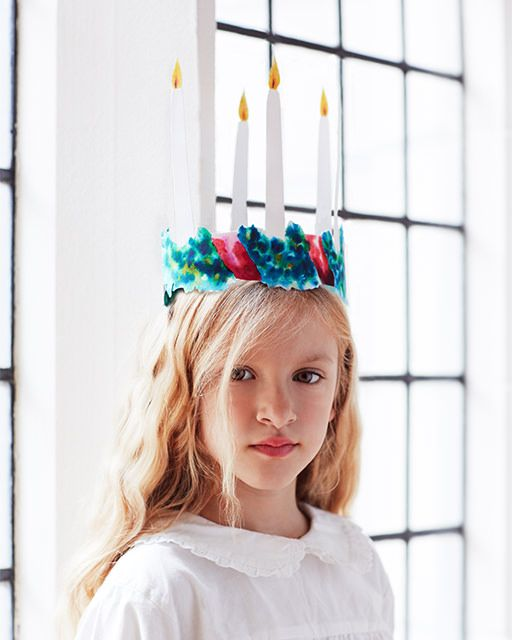 Today is Lucia Day in Sweden! Santa Lucia Day Celebration + Free Crown Printables - #sweetpaul #Sweden