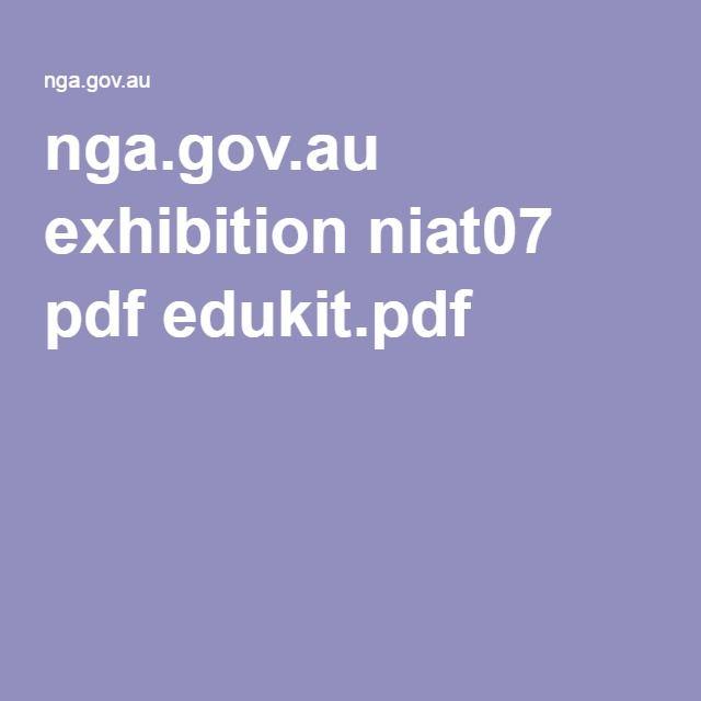 nga.gov.au exhibition niat07 pdf edukit.pdf